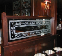 Etched Glass Restaurant