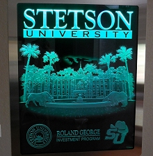 Carved Glass Stetson University