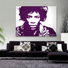 Etched Glass Mirror Hendrix