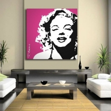 Etched Glass Mirror Marilyn Monroe